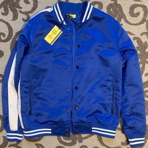 *NWT* Royal Blue Bomber Jacket